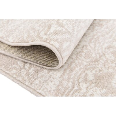 Argyle Beige Area Rug Rug Size: Rectangle 8 x 10