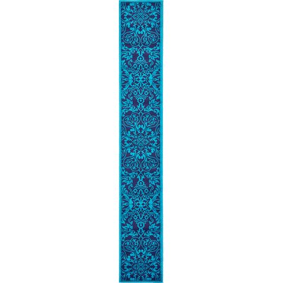 Alford Turquoise Area Rug Rug Size: Runner 2 x 13