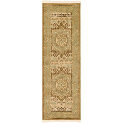 Laurelwood Cream Area Rug Rug Size: Rectangle 2 x 6