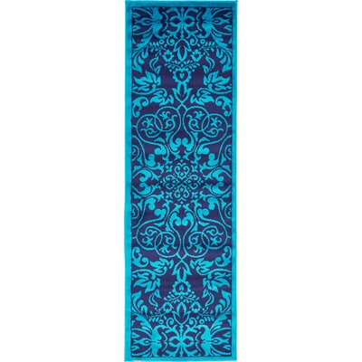 Alford Turquoise Area Rug Rug Size: Runner 2 x 67