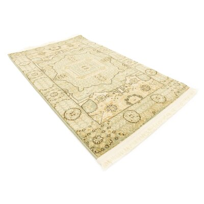 Laurelwood Beige Area Rug Rug Size: Rectangle 22 x 3