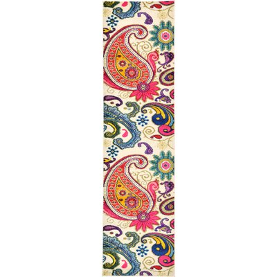 Aquarius Area Rug Rug Size: Runner 27 x 10