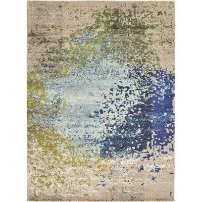 Roshan Blue Area Rug Rug Size: 8 x 11