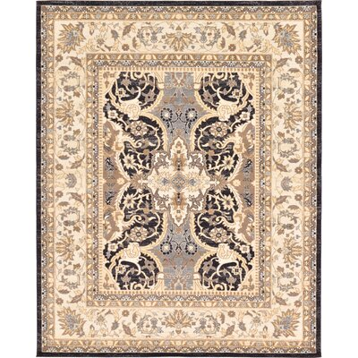 Drury Beige Area Rug Rug Size: Rectangle 9 x 12