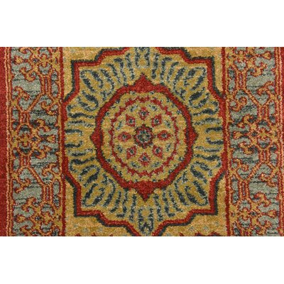 Laurelwood Red Area Rug Rug Size: Rectangle 10 x 11 4
