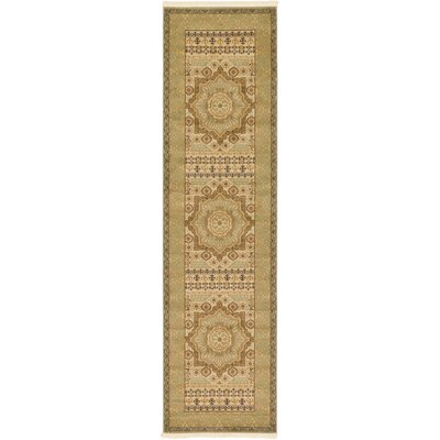 Laurelwood Cream Area Rug Rug Size: Runner 27 x 10