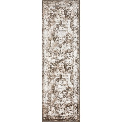 Brandt Light Brown Area Rug Rug Size: Runner 2 x 67