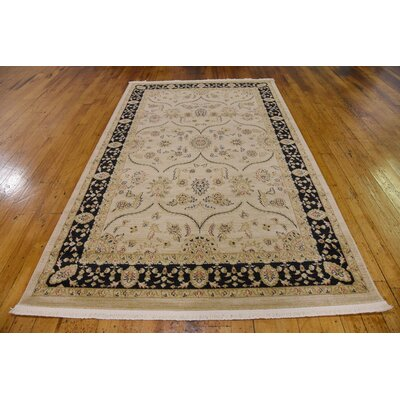 Fonciere Cream Area Rug Rug Size: 8 x 11