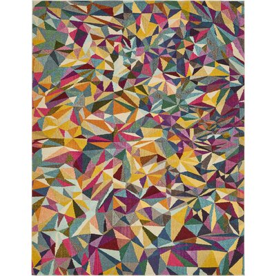 Aquarius Area Rug Rug Size: 8 x 10