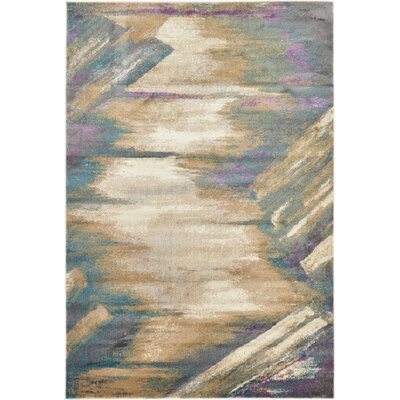 Cherry Street Beige Area Rug Rug Size: Rectangle 6 x 9