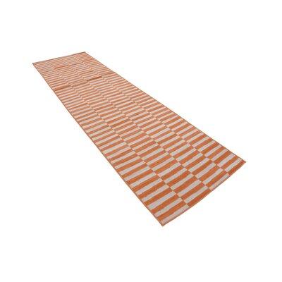Braxton Orange Area Rug Rug Size: Runner 3 x 10