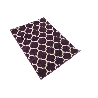Moore Purple Area Rug Rug Size: Rectangle 22 x 3