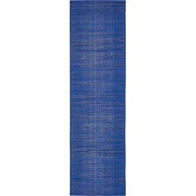 Risley Navy Blue Area Rug Rug Size: Runner 29 x 91