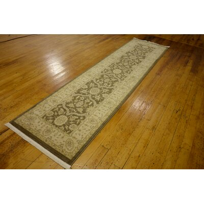 Fonciere Brown Area Rug Rug Size: Runner 27 x 10