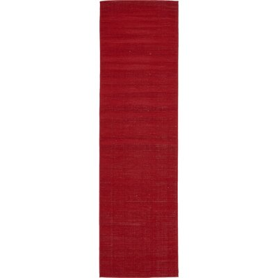 Risley Red Area Rug Rug Size: Runner 3 x 10