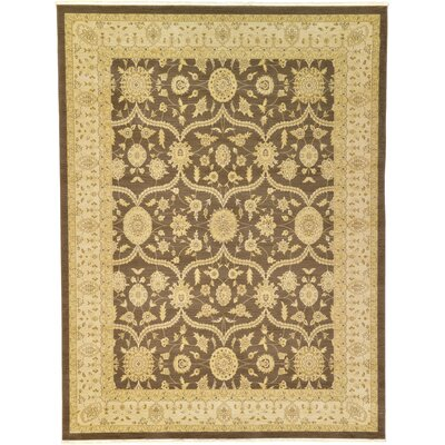 Britley Brown Area Rug Rug Size: Rectangle 9 x 12
