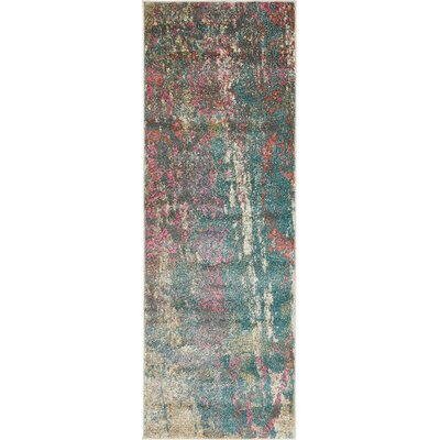 Cherry Street Gray Area Rug Rug Size: Runner 22 x 6