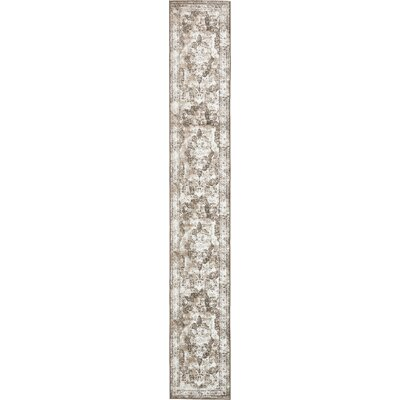 Brandt Light Brown Area Rug Rug Size: Runner 2 x 13