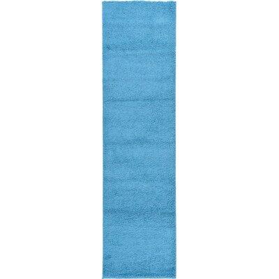 Breton Turquoise Area Rug Rug Size: Runner 27 x 10