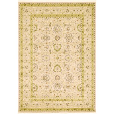 Willow Beige Area Rug Rug Size: 7 x 10