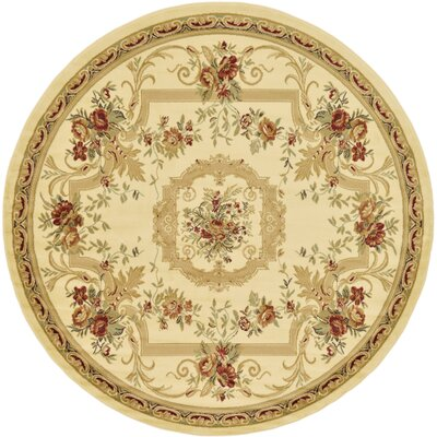 Crainville Beige Area Rug Rug Size: Square 6