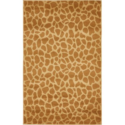 Leif Hand-Tufted Yellow Area Rug Rug Size: 3 x 5
