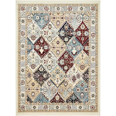 Jadyn Ivory Area Rug Rug Size: Rectangle 5 x 8