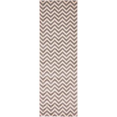 Van Maanen Gray Area Rug Rug Size: Runner 27 x 8
