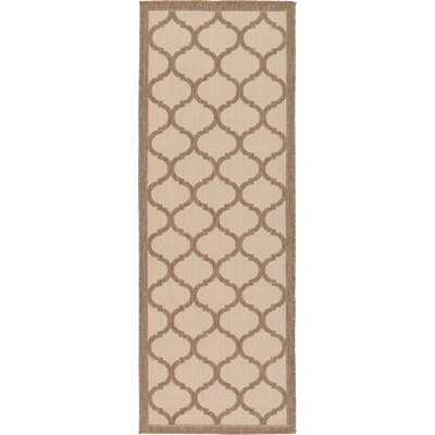 Stanwich Brown Outdoor Area Rug Rug Size: Runner 22 x 6