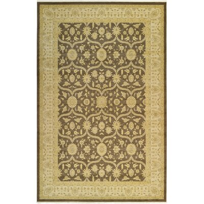 Jamar Brown Area Rug Rug Size: 106 x 165