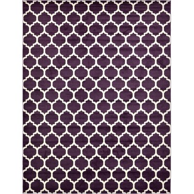 Moore Purple Area Rug Rug Size: Rectangle 122 x 16