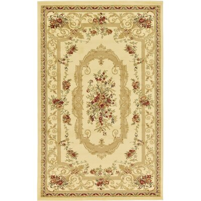 Crainville Beige Area Rug Rug Size: 6 x 9