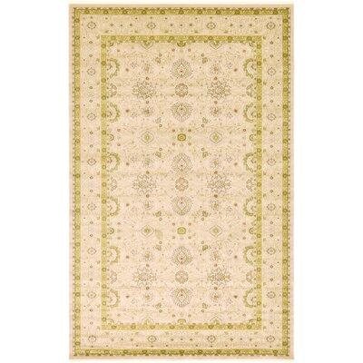 Willow Beige Area Rug Rug Size: 106 x 165