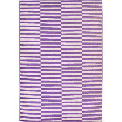 Braxton Purple Area Rug Rug Size: 6 x 9