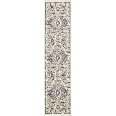 Amrane Ivory/Tan Area Rug Rug Size: Rectangle 5 x 8