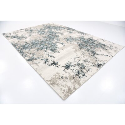 Brayden Beige Area Rug Rug Size: Rectangle 7 x 10