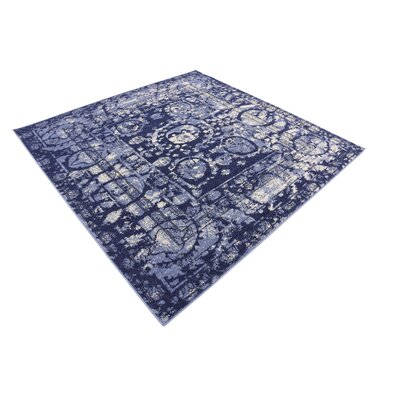 Kelaa Blue Area Rug Rug Size: Rectangle 5 x 8