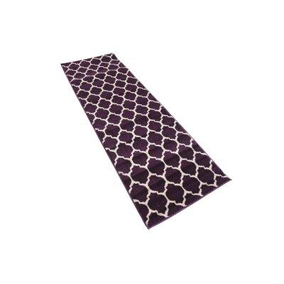 Moore Purple Area Rug Rug Size: Runner 2 x 6