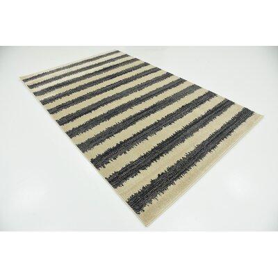 Winscombe Black Area Rug Rug Size: Runner 2 x 6