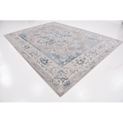 Mellal Gray Area Rug Rug Size: Rectangle 5 x 8