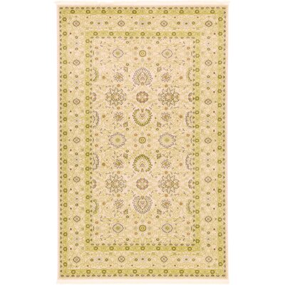 Willow Beige Area Rug Rug Size: 5 x 8