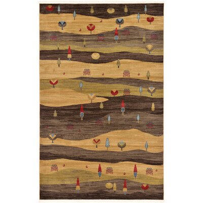 Foret Noire Area Rug Rug Size: 5 x 8