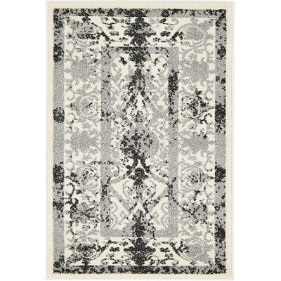 Shailene Ivory Area Rug Rug Size: Rectangle 2 x 3