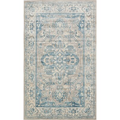 Mellal Gray Area Rug Rug Size: Rectangle 7 x 10