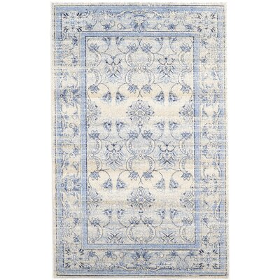 Shailene Ivory Area Rug Rug Size: Rectangle 35 x 53