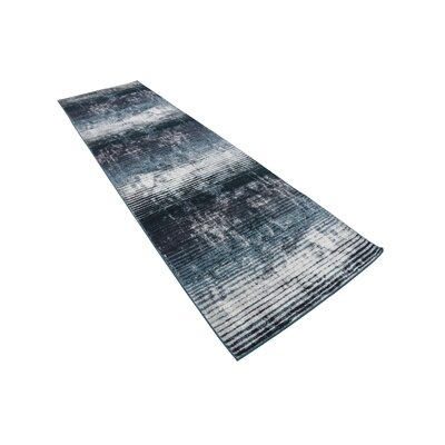 Brayden Blue Area Rug Rug Size: Runner 3' x 10'