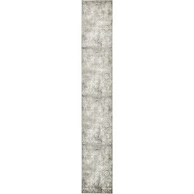Brandt Dark Gray Area Rug Rug Size: Runner 2 x 13