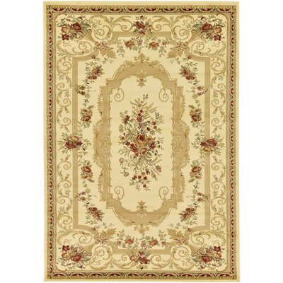 Crainville Beige Area Rug Rug Size: 10 x 13