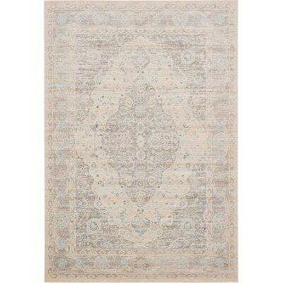 Mellal Dark Gray Area Rug Rug Size: Square 8