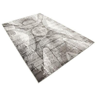 Ford Dark Gray Area Rug Rug Size: Rectangle 5 x 8